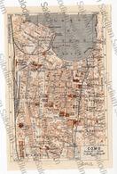 COMO  - Mappa Cartina - Mappe