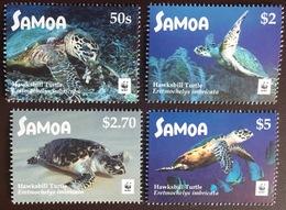 Samoa 2016 WWF Hawksbill Turtles MNH - Turtles