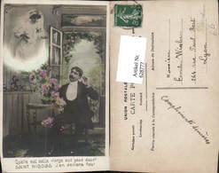 628777,Fotomontage Surrealismus Hochzeit Paar Spruch Text Saint Nicolas - Hochzeiten