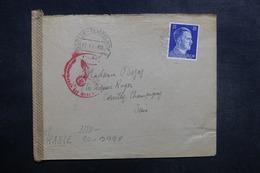 ALLEMAGNE - Enveloppe De Berlin Pour La France En 1942 Avec Contrôle Postal, étiquette De La Censure Au Verso - L 41839 - Allemagne