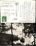 628576,Foto Ak Wolzig Am Wolziger See Heidesee Segelboot - Deutschland