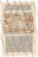 BORDIGHERA  - Mappa Cartina - Mappe