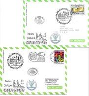 1658f: Zwei Ballonpost- Belege 1985 Für Heimatsammler 4451 Garsten (1000 Jahre Garsten) - Steyr