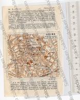 UDINE  - Mappa Cartina - Mappe