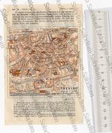 TREVISO  - Mappa Cartina - Mappe