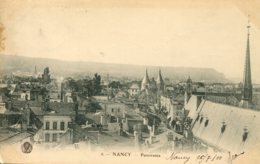 CPA - NANCY - PANORAMA - Nancy