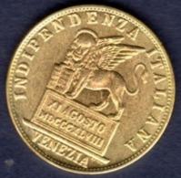 ITALIA  ITALY  VENEZIA  20  LIRE  1948  VENEZIA - Governo Provvisorio (1848 - 1849) - 10 Lire