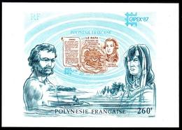 POLYNESIE - YT BF N° 13 - Neuf ** - MNH - Cote: 7,00 € - Blocks & Sheetlets