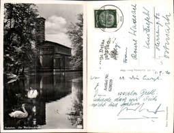 628039,Foto Ak Potsdam Die Friedenskirche Kirche Schwan Schwäne Kirche - Deutschland