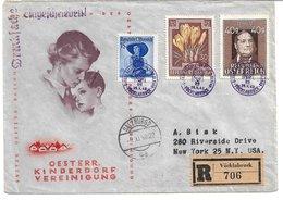 1658a: Ballonpost 25.X.48, Vöcklabruck, Per Einschreiben - 1945-.... 2. Republik