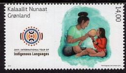 Greenland - 2019 - UN International Day Of Indigenous Languages - Mint Stamp - Greenland