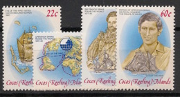 Cocos - 1980 - N°Yv. 61 à 64 - Operation Drake - Neuf Luxe ** / MNH / Postfrisch - Cocos (Keeling) Islands