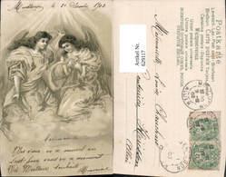 629117,Künstler Litho Ak Zwei Engel France Lithographie - Engel