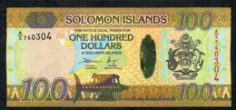 SOLOMONS ISLANDS P36 100  DOLLARS 2015 #A/5 UNC. - Isola Salomon