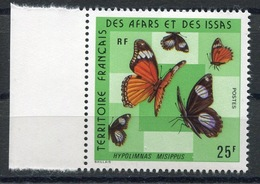 RC 13386 AFARS ET ISSAS N° 404 PAPILLONS NEUF ** - Unused Stamps