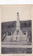Cpa-01-sainte Croix-pas Sur Delc.-monument Aux Morts 1914 /1918-edi  J.nicolas - Altri Comuni
