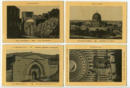 LOT 4 CP ISRAËL / PALESTINE Via Dolorosa (Jérusalem) / Mosquée D'Omar / Saint Sépulcre (Eglise ) Et Intérieur - Israël