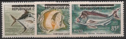 Mali - 1961 - N°Yv. 10 à 12 - Poissons - Neuf Luxe ** / MNH / Postfrisch - Fishes