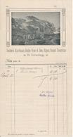 Hôtel Touriste Seilers Kurhaus Belle-Vue & Des Alpes - Note 1913 - Suisse