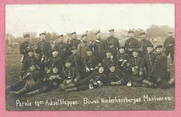 67 - NIEDERHAUSBERGEN - Carte Photo - Soldats Allemands - Manöver 1909 - Regiment Pionier N° 10 - STRASBOURG - Francia