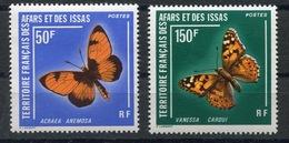 RC 13396 AFARS ET ISSAS N° 438 / 439 PAPILLONS NEUF ** - Afar- Und Issa-Territorium (1967-1977)
