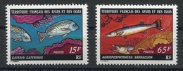 RC 13397 AFARS ET ISSAS N° 441/ 442 POISSONS DONT BARRACUDA NEUF ** - Unused Stamps