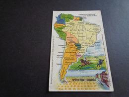 Carte ( 1 )  Géographique  Landkaart -  Amérique Du Sud  Zuid - Amerika  - Brésil  Brazilië - Maps