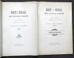 Numismatica Monete E Medaglie Istituto Leardi Casale Classificate Per Stati 1898 - Libros, Revistas, Cómics