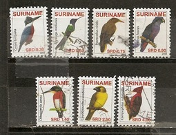 Surinam 201- Oiseaux Birds Obl - Surinam