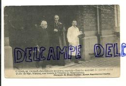 Accident De Train Du 21 Mai 1908 à Contich. Visite Du Cardinal Mercier Aux Victimes. - Catastrophes