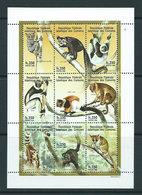 Comores - Correo 1998 Yvert 783/91 ** Mnh  Fauna - Comoren (1975-...)