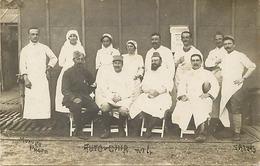 Themes Div-ref CC903- Carte Photo -militaires -militaria -guerre 1914-18-auto - Chir - AUTO CHIR -santé - Infirmiers - - Guerra 1914-18