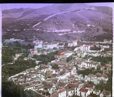 Albaicín Moorish Quarter GRANADA SPAIN - Tinted Magic Lantern Slide (lanterne Magique) - Glasdias