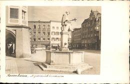 40773174 Rosenheim Bayern Rosenheim Nepomukbrunnen * Rosenheim - Duitsland