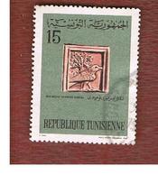 TUNISIA - SG 650  -    1967 TUNISIAN HISTORY: NUMIDIC BAS-RELIEF   - USED ° - Tunisia (1956-...)