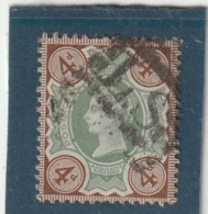 **** ANGLETERRE *** England ***  -  - Jubilé N° 97  -- 4 D Brun Sur Jaune Côte 15 € - 1840-1901 (Victoria)