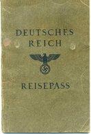 Ostmark/Linz; Reisepass Ausgestellt 1939 - Historische Dokumente
