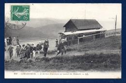 88. Gérardmer. L'arrivée D'un Train Au Sommet Du Hohneck. Voyageurs. 1910 - Gerardmer