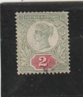 **** ANGLETERRE *** England ***  -  - Jubilé N° 94  -- 5 Violet Bleu  ... Côte 10€ - 1840-1901 (Victoria)