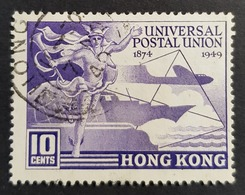 1949 The 75th Anniversary Of The Universal Postal Union U.P.U, Hong Kong, China, *,** Or Used - Hong Kong (...-1997)