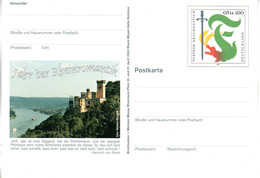 """BRD Amtl. GZS-Sonderpostkarte PSo 79 """"BM+Münzen Messe Rheinland-Pfalz"""" WSt """"Further Drachenstich"""", Ungebraucht - BRD"""