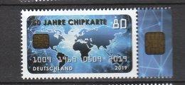 Deutschland BRD **  3494 50 Jahre Chipkarte Erstausgabe 5.9.2019, - [7] République Fédérale