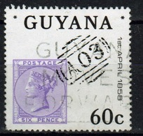 Guyana 1983 Single 60c Stamp From The 125th Anniversary Of GB Stamps In Guyana. - Guyana (1966-...)