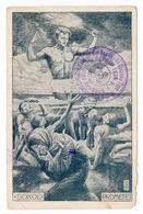 1921 SERBIA, SOKOL SLET,  PROMETEJ, WITH CANCELATION: 3rd SLET SUMADIA SOKOL ZUPA, CUPRIJA - Briefe U. Dokumente