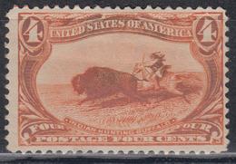 USA 1898 - Trans-Mississippi Exposition MH* - Ungebraucht