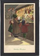 CPA MUNK VIENNE 1157 Pauli EBNER Circulé Femme Jouets - Vienne