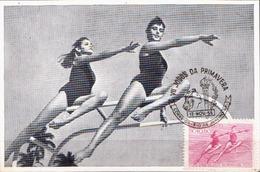 Brazil Maximum Card - Gymnastics