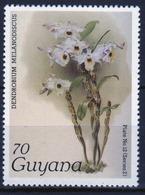 Guyana 1985 Single 70c Stamp From The Plants Series. - Guyana (1966-...)