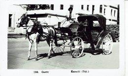 PAKISTAN-KARACHI-GARRY-ATTELAGE -CHEVAL-HORSE-roue - Pakistan