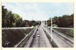 X92041 SAINT-CLOUD St Hauts-de-Seine Automobiles Nouvelle Autoroute De L'OUEST Flamme Poste RUEIL MALMAISON 29.08.1966 - Saint Cloud